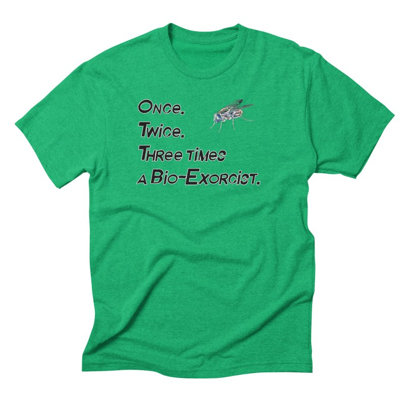 Once. Twice. Three times a Bio-Exorcist. Men's Triblend T-shirt by Jason Henricks' Artist Shop