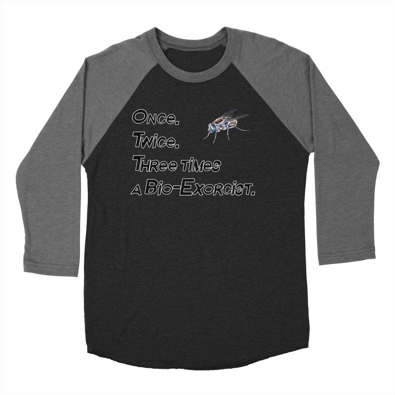Once. Twice. Three times a Bio-Exorcist. Women's Baseball Triblend Longsleeve T-Shirt by Jason Henricks' Artist Shop