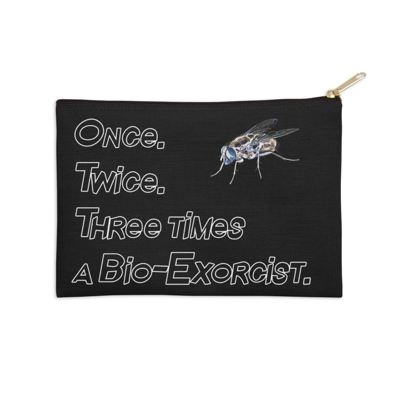 Once. Twice. Three times a Bio-Exorcist. Accessories Zip Pouch by Jason Henricks' Artist Shop