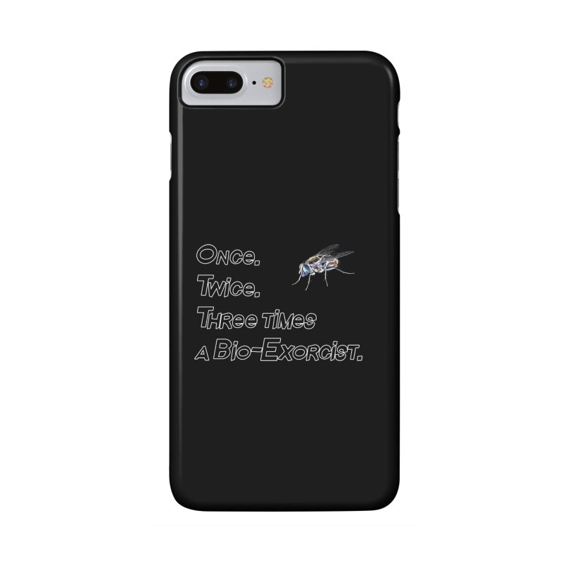 Once. Twice. Three times a Bio-Exorcist. Accessories Phone Case by Jason Henricks' Artist Shop