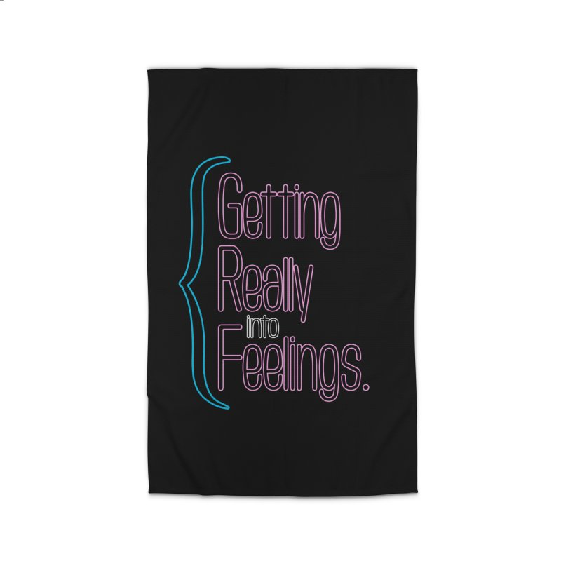 Getting Really into Feelings Home Rug by Jason Henricks' Artist Shop