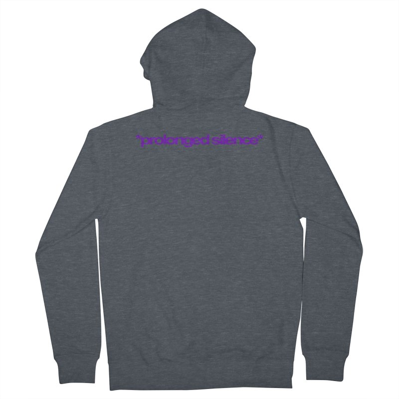 Prolonged Silence Men's French Terry Zip-Up Hoody by Jason Henricks' Artist Shop