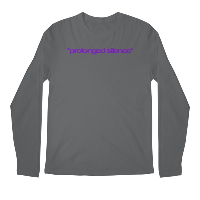 Prolonged Silence Men's Regular Longsleeve T-Shirt by Jason Henricks' Artist Shop