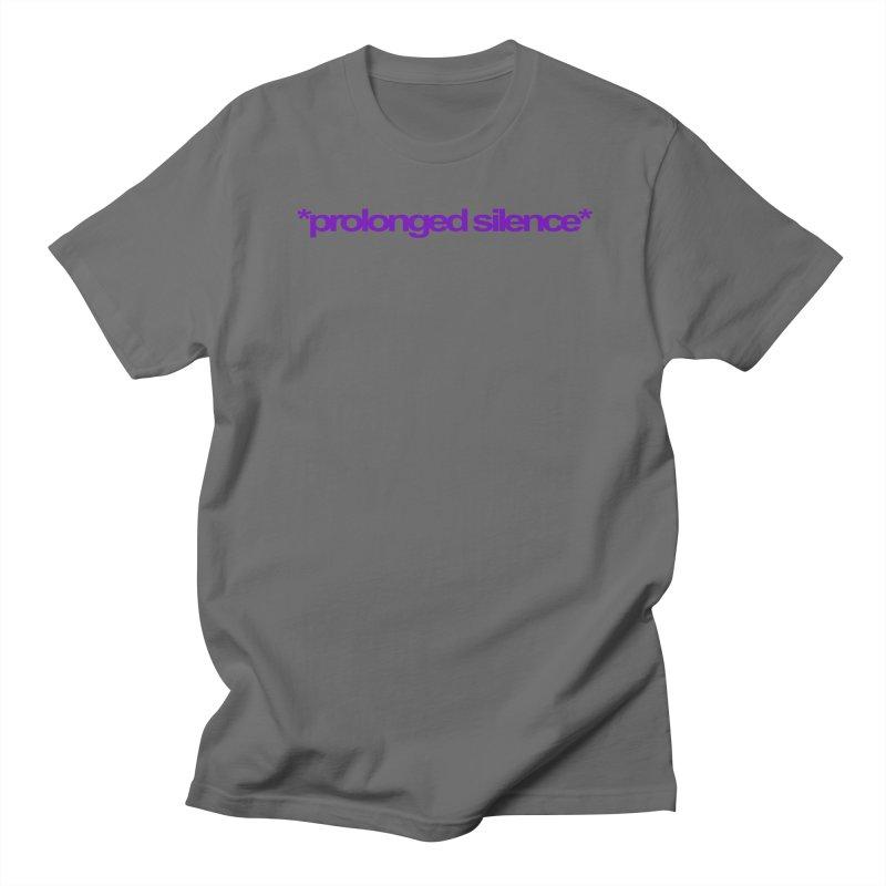 Prolonged Silence Men's T-Shirt by Jason Henricks' Artist Shop