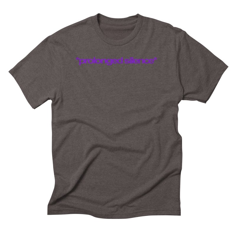 Prolonged Silence Men's Triblend T-Shirt by Jason Henricks' Artist Shop