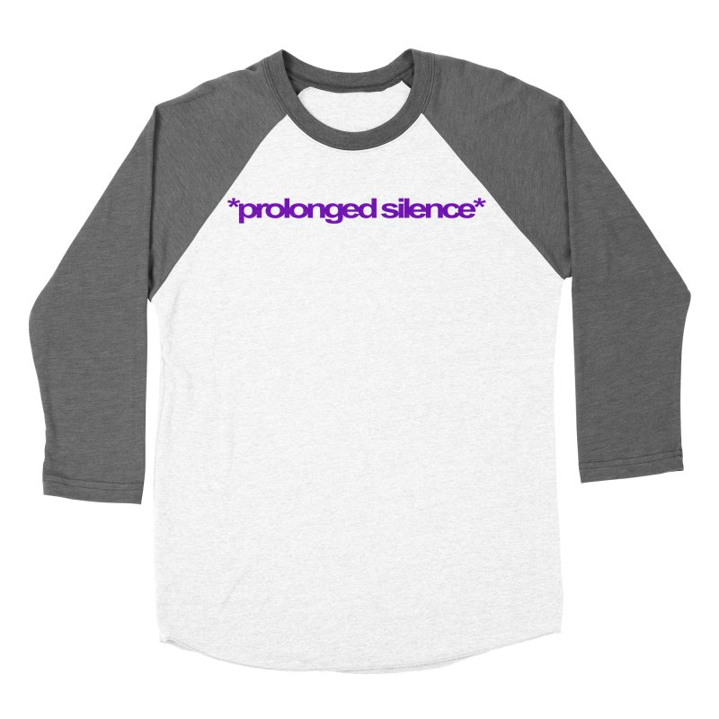 Prolonged Silence Women's Longsleeve T-Shirt by Jason Henricks' Artist Shop