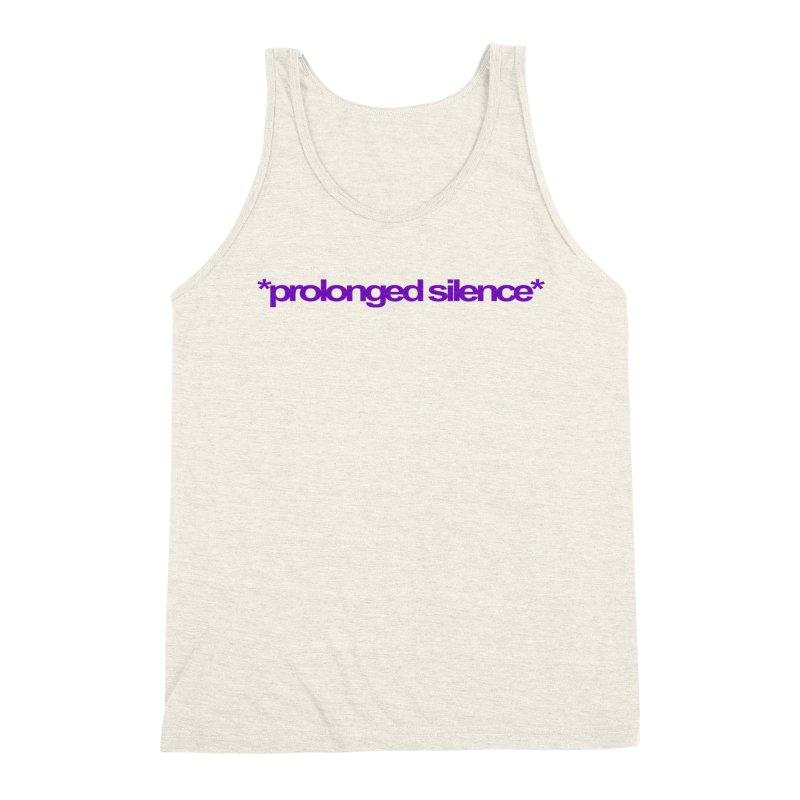 Prolonged Silence Men's Triblend Tank by Jason Henricks' Artist Shop