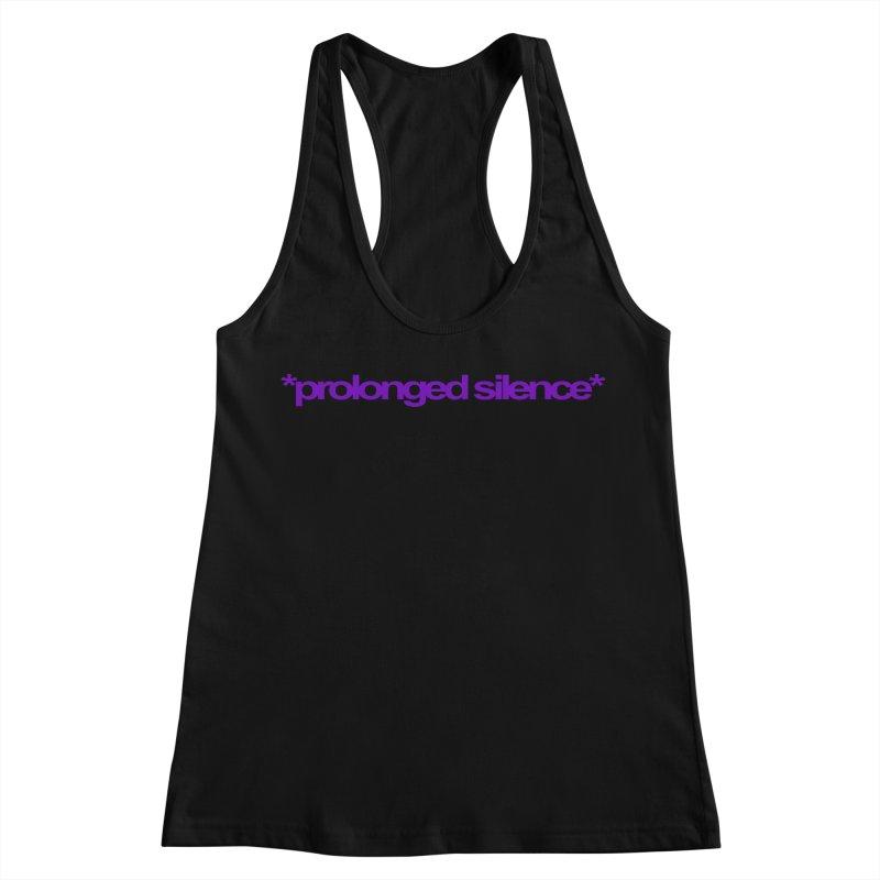 Prolonged Silence Women's Racerback Tank by Jason Henricks' Artist Shop