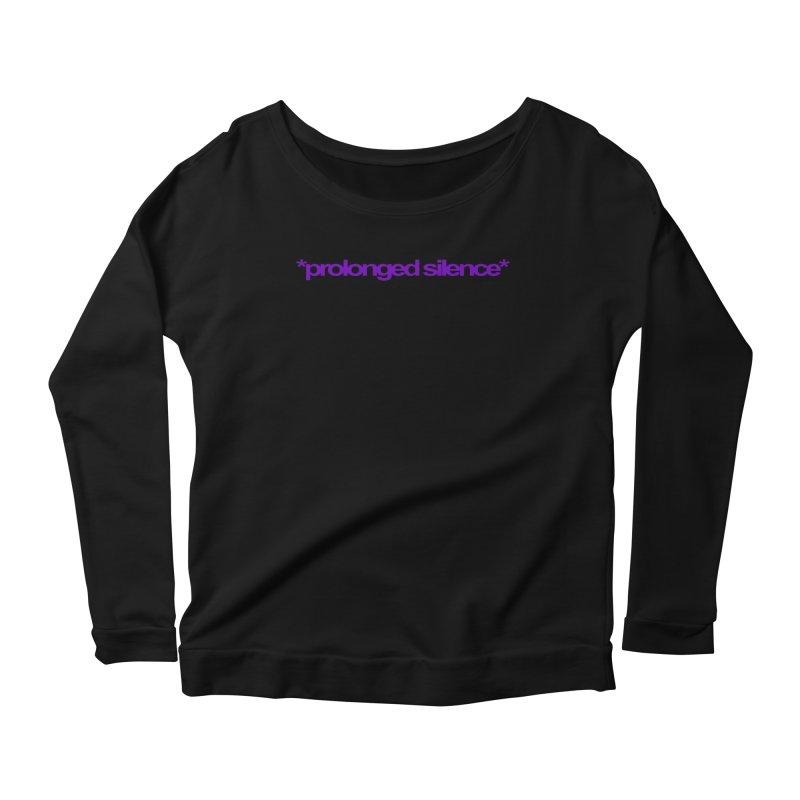 Prolonged Silence Women's Longsleeve Scoopneck  by Jason Henricks' Artist Shop