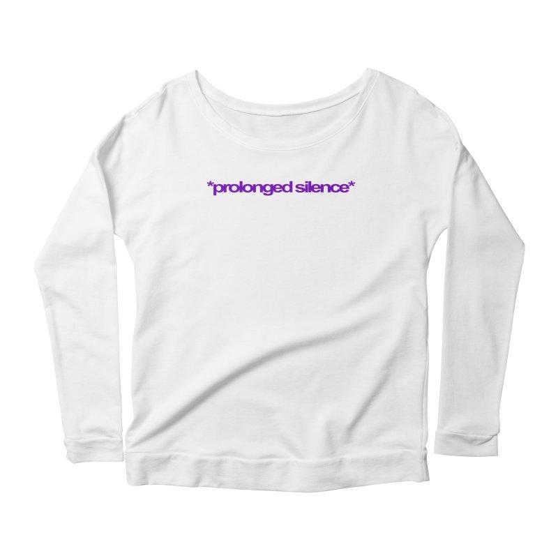 Prolonged Silence Women's Scoop Neck Longsleeve T-Shirt by Jason Henricks' Artist Shop