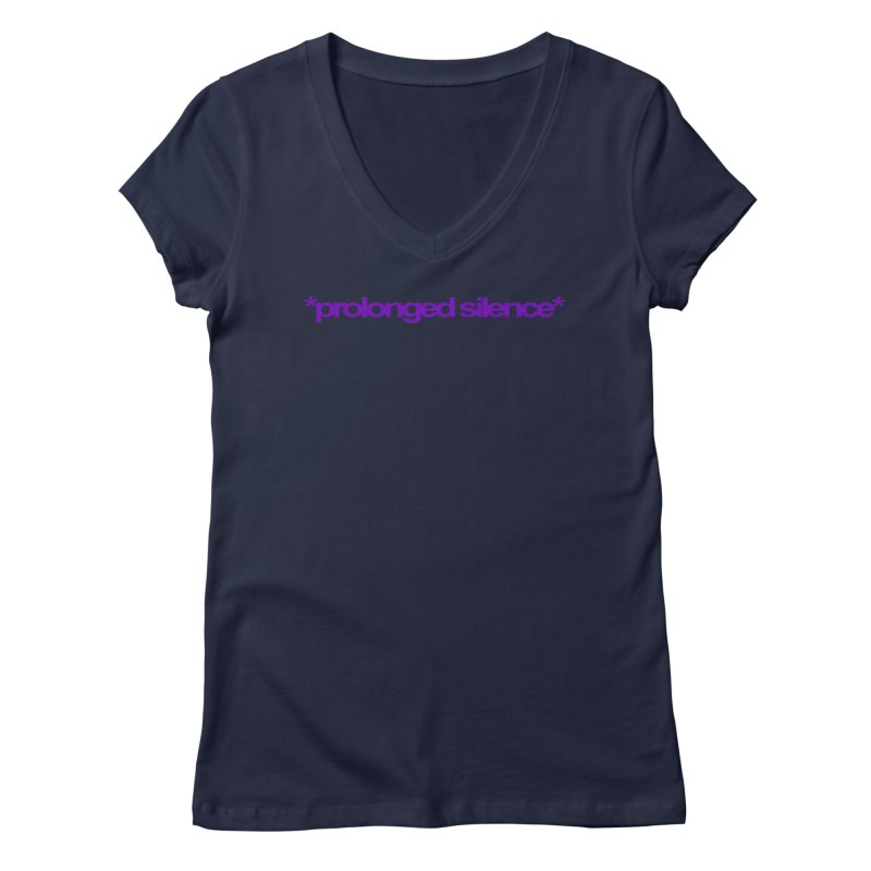Prolonged Silence Women's Regular V-Neck by Jason Henricks' Artist Shop