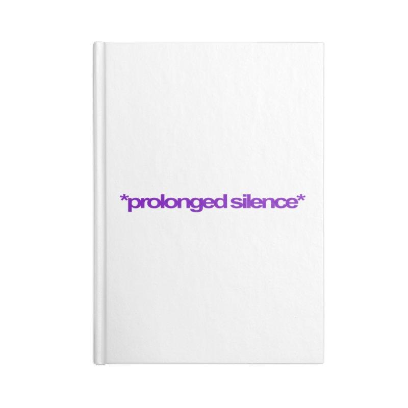 Prolonged Silence Accessories Notebook by Jason Henricks' Artist Shop