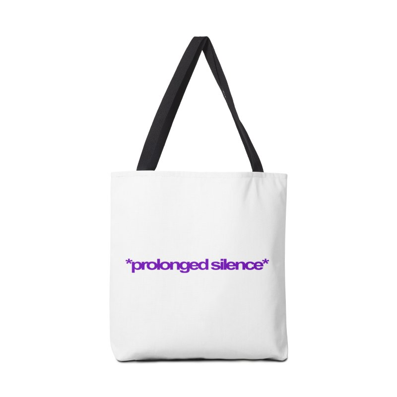 Prolonged Silence Accessories Bag by Jason Henricks' Artist Shop