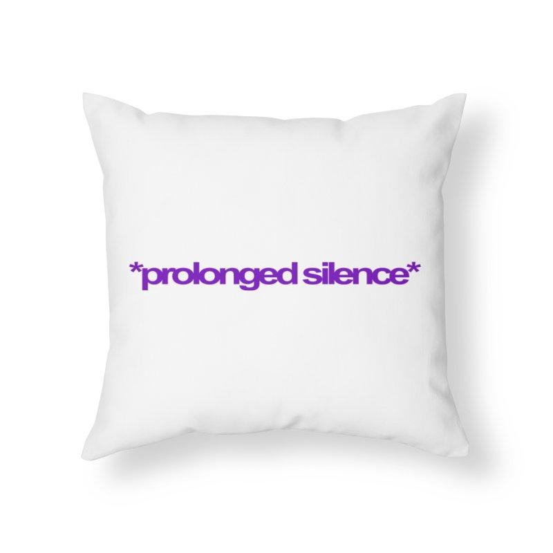 Prolonged Silence Home Throw Pillow by Jason Henricks' Artist Shop