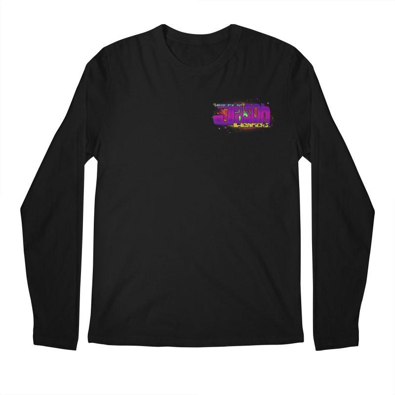 Shameless Self Promotion Men's Regular Longsleeve T-Shirt by Jason Henricks' Artist Shop