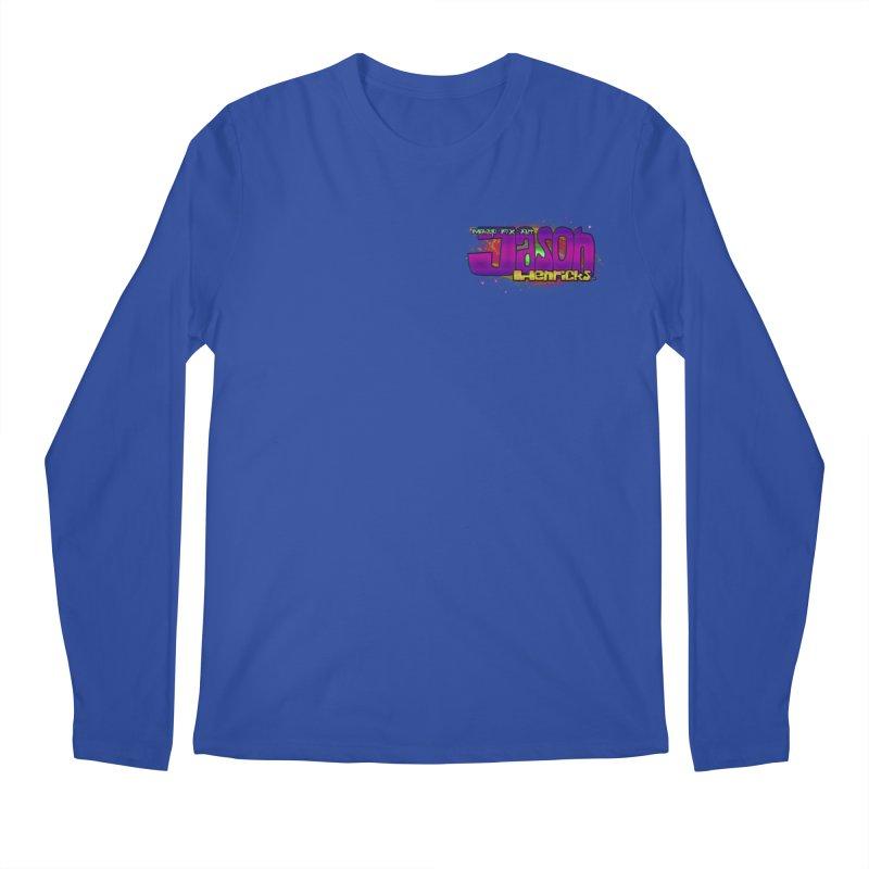 Shameless Self Promotion Men's Longsleeve T-Shirt by Jason Henricks' Artist Shop