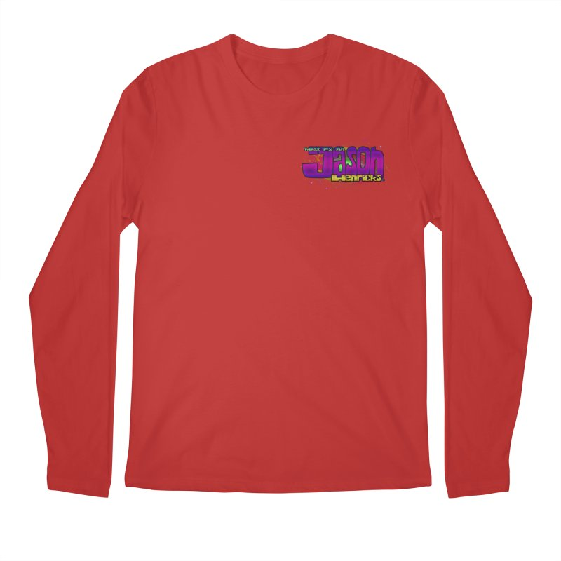 Shameless Self Promotion Men's Regular Longsleeve T-Shirt by Jason Henricks' Artist Shop