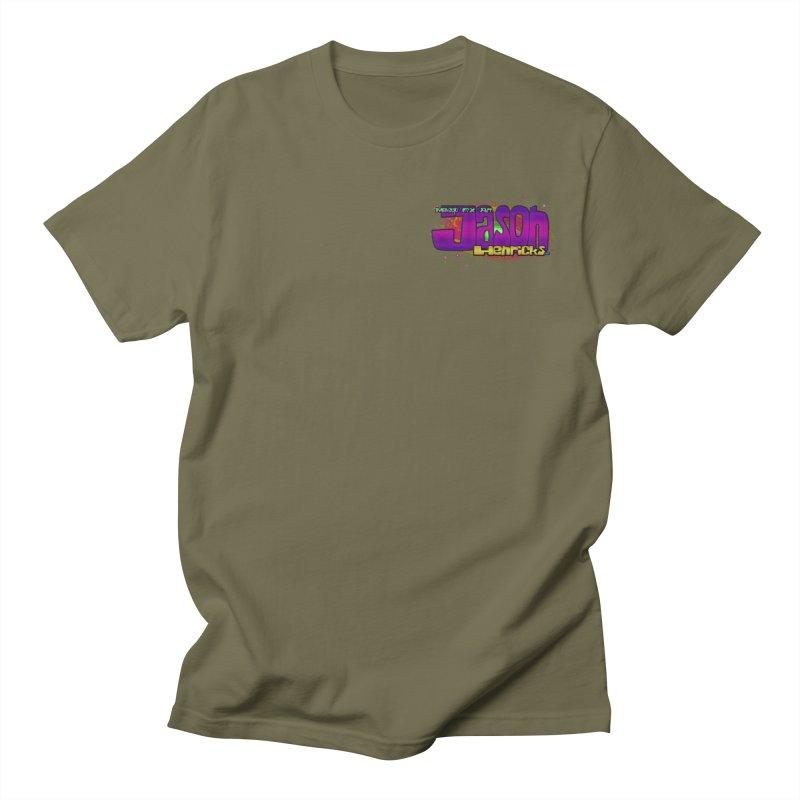 Shameless Self Promotion Men's T-Shirt by Jason Henricks' Artist Shop