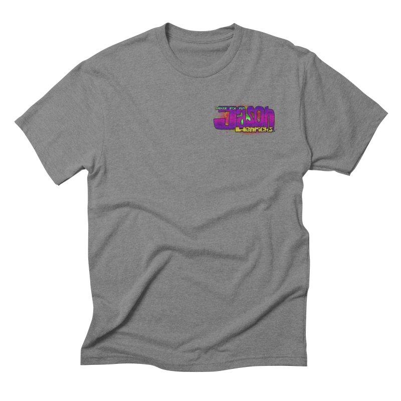 Shameless Self Promotion Men's Triblend T-Shirt by Jason Henricks' Artist Shop