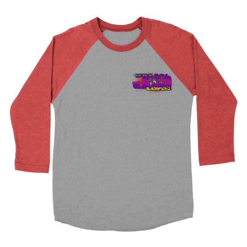 Shameless Self Promotion Women's Baseball Triblend T-Shirt by Jason Henricks' Artist Shop
