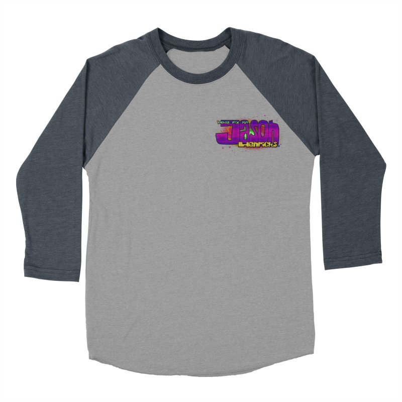 Shameless Self Promotion Men's Baseball Triblend T-Shirt by Jason Henricks' Artist Shop