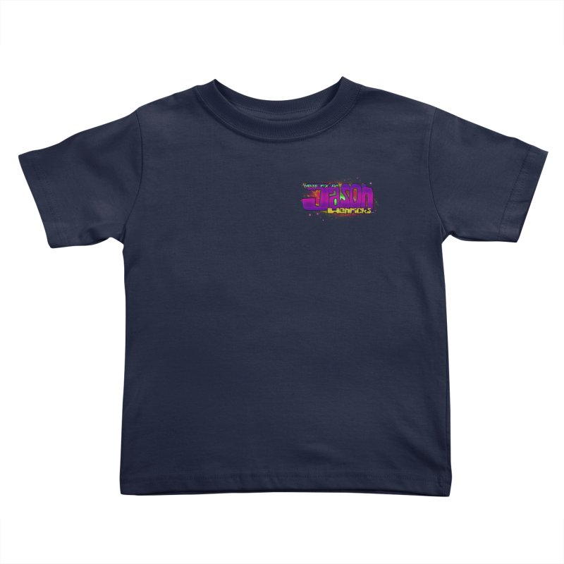 Shameless Self Promotion Kids Toddler T-Shirt by Jason Henricks' Artist Shop