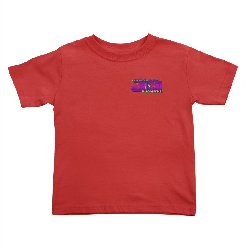 Shameless Self Promotion Kids Toddler T-Shirt by Jason Henricks' Artist Shop
