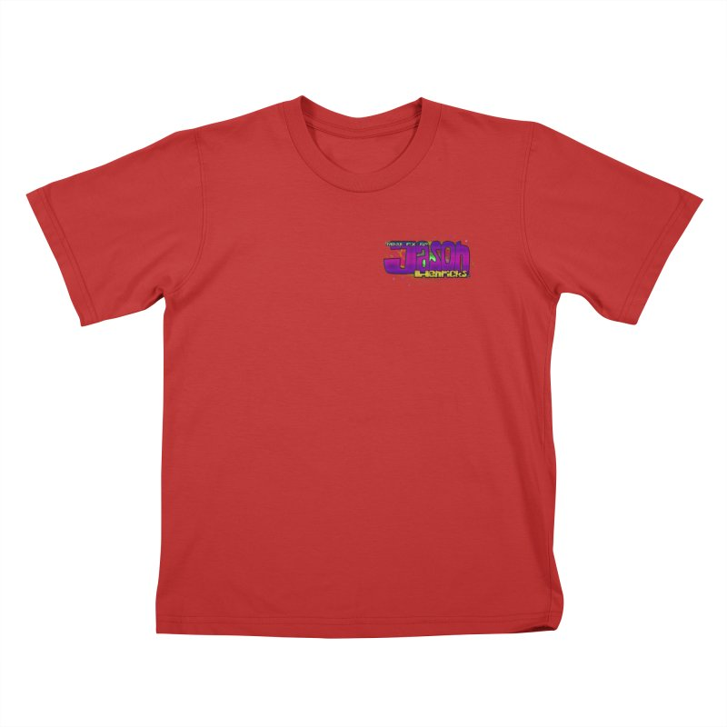 Shameless Self Promotion Kids T-Shirt by Jason Henricks' Artist Shop