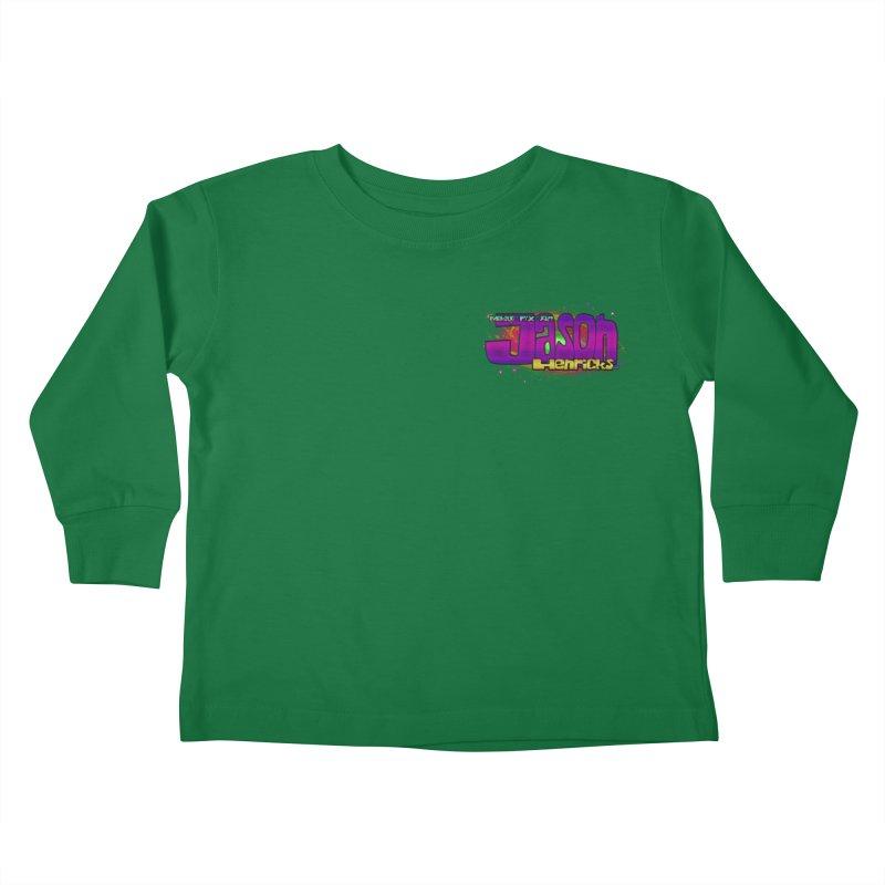 Shameless Self Promotion Kids Toddler Longsleeve T-Shirt by Jason Henricks' Artist Shop