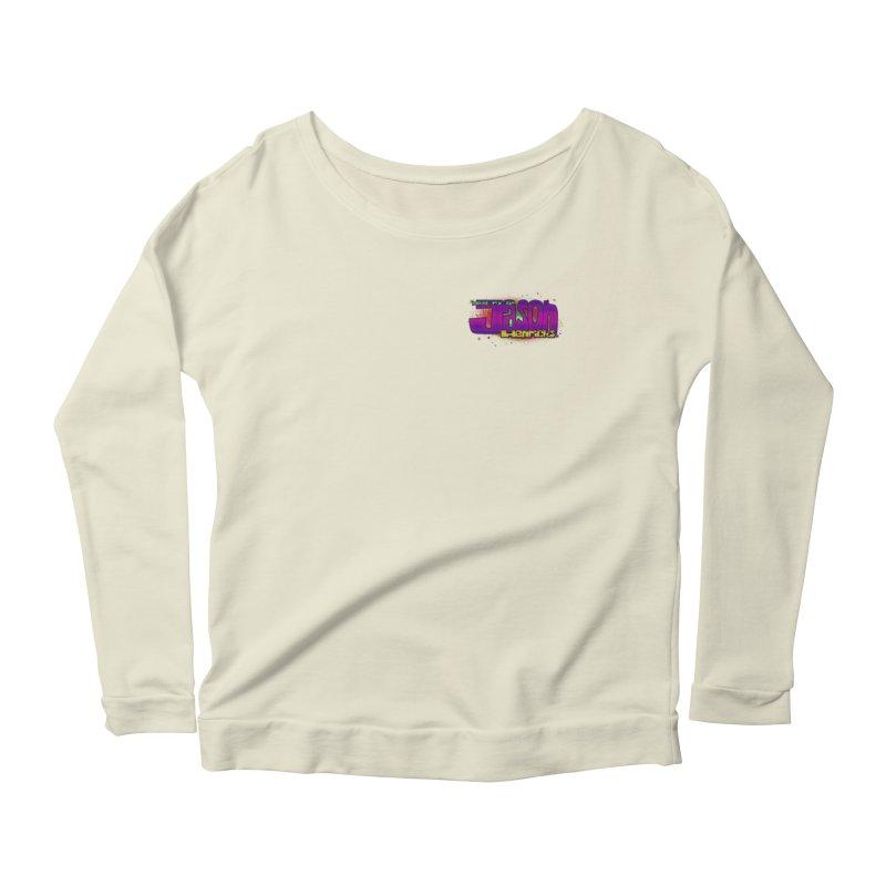 Shameless Self Promotion Women's Scoop Neck Longsleeve T-Shirt by Jason Henricks' Artist Shop