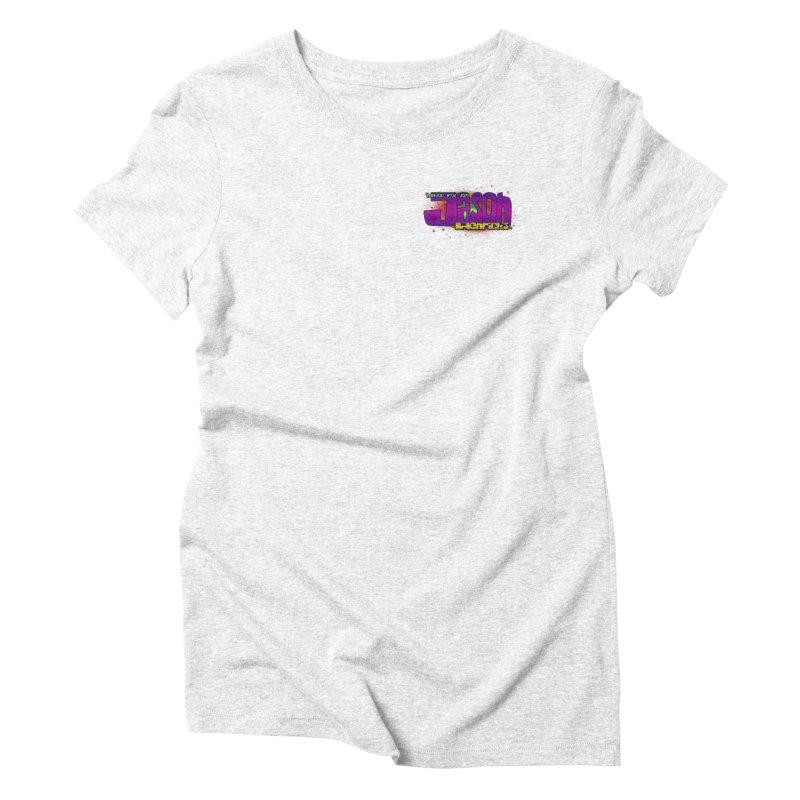 Shameless Self Promotion Women's Triblend T-shirt by Jason Henricks' Artist Shop