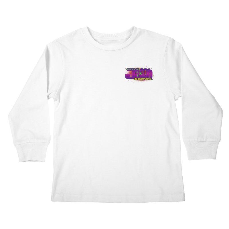 Shameless Self Promotion Kids Longsleeve T-Shirt by Jason Henricks' Artist Shop