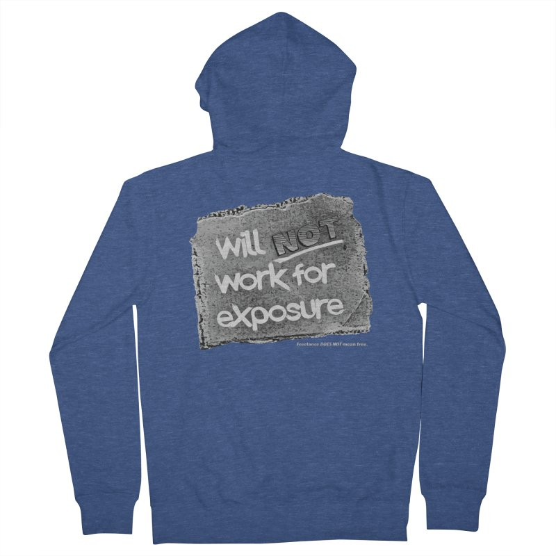 WNWFE (Will Not Work For Exposure) Men's Zip-Up Hoody by Jason Henricks' Artist Shop