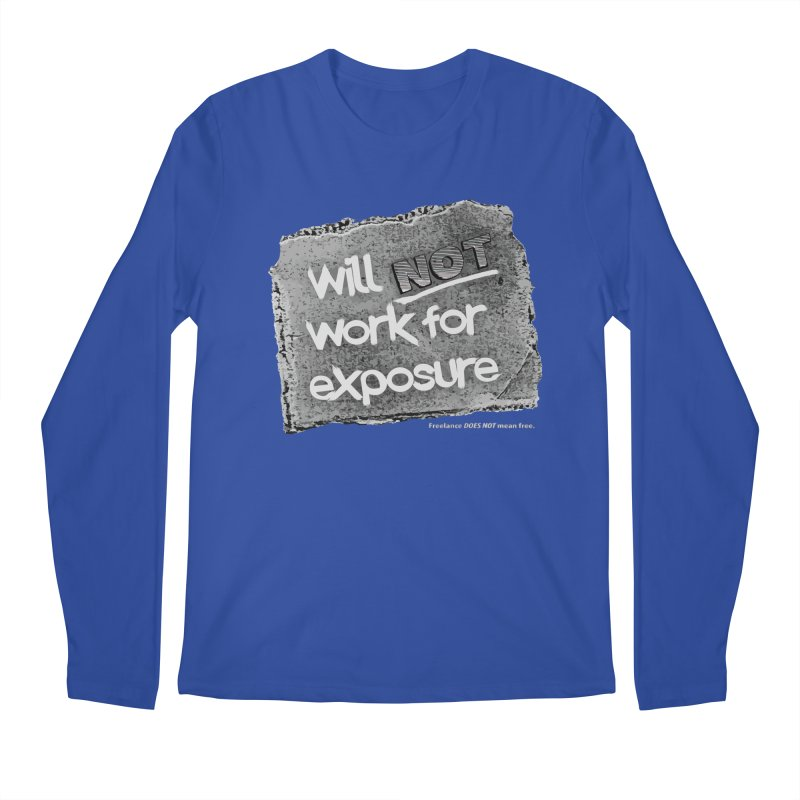WNWFE (Will Not Work For Exposure) Men's Regular Longsleeve T-Shirt by Jason Henricks' Artist Shop