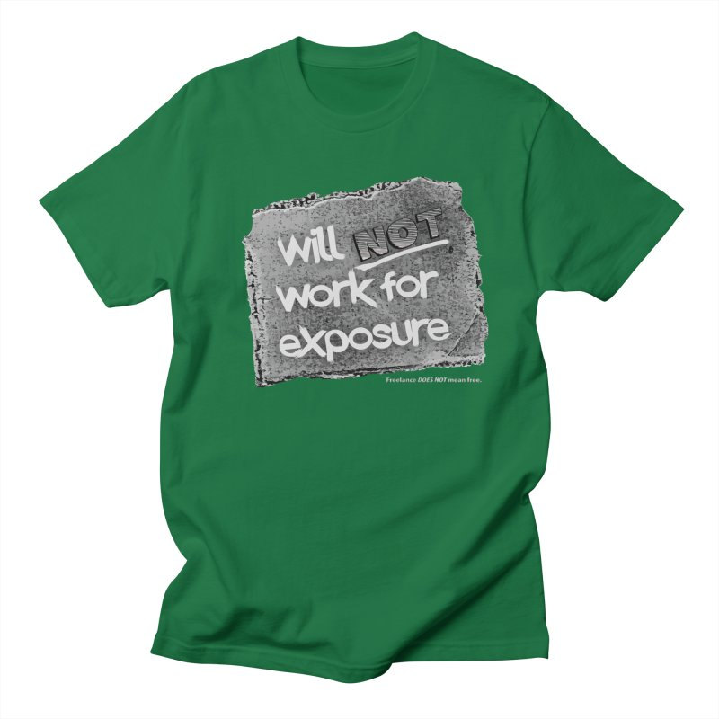 WNWFE (Will Not Work For Exposure) Men's Regular T-Shirt by Jason Henricks' Artist Shop
