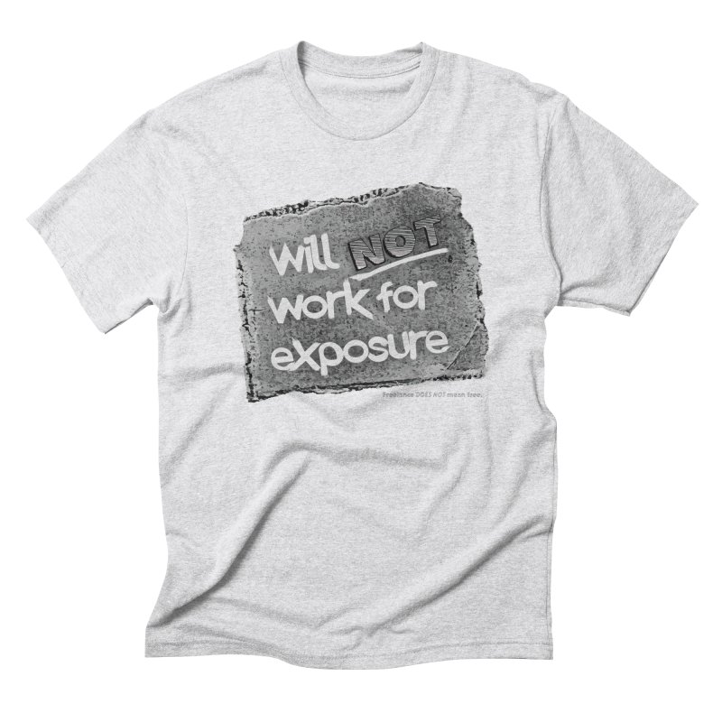 WNWFE (Will Not Work For Exposure) Men's Triblend T-Shirt by Jason Henricks' Artist Shop
