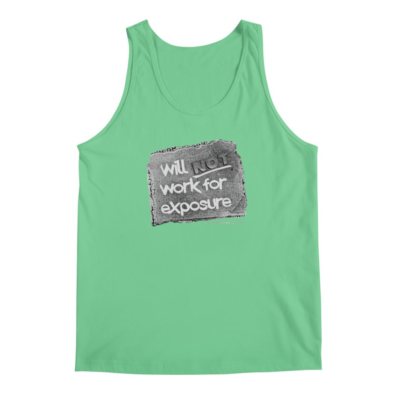 WNWFE (Will Not Work For Exposure) Men's Tank by Jason Henricks' Artist Shop