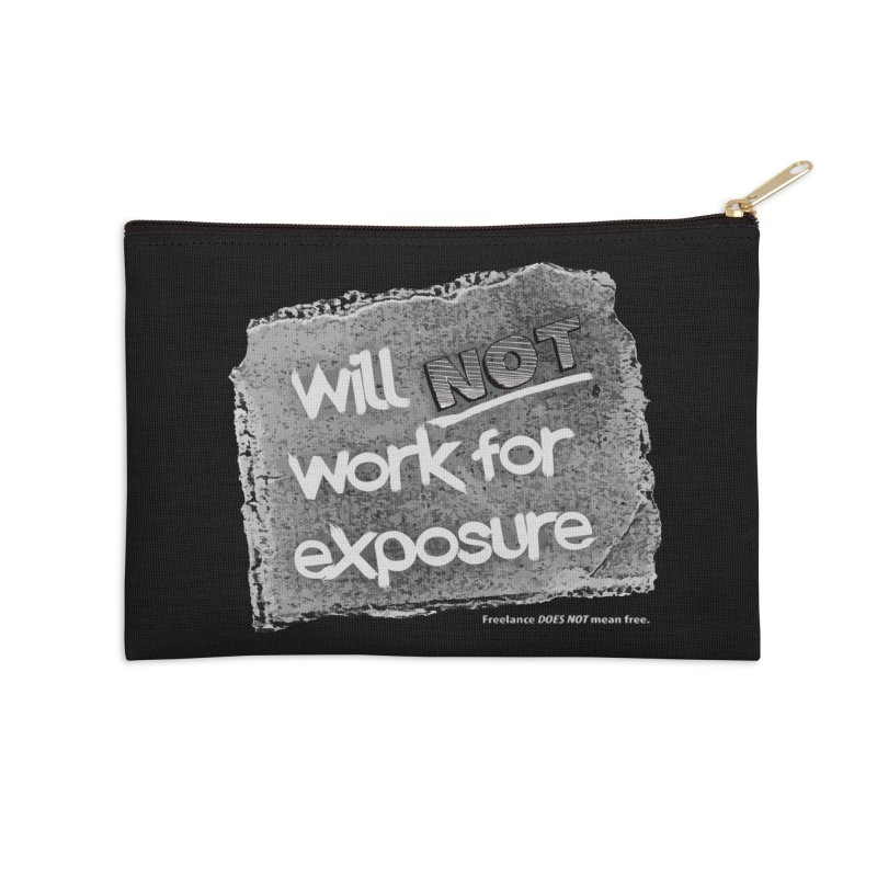 WNWFE (Will Not Work For Exposure) Accessories Zip Pouch by Jason Henricks' Artist Shop