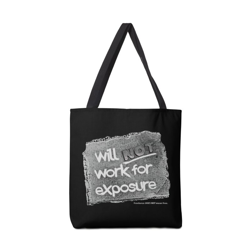 WNWFE (Will Not Work For Exposure) Accessories Bag by Jason Henricks' Artist Shop