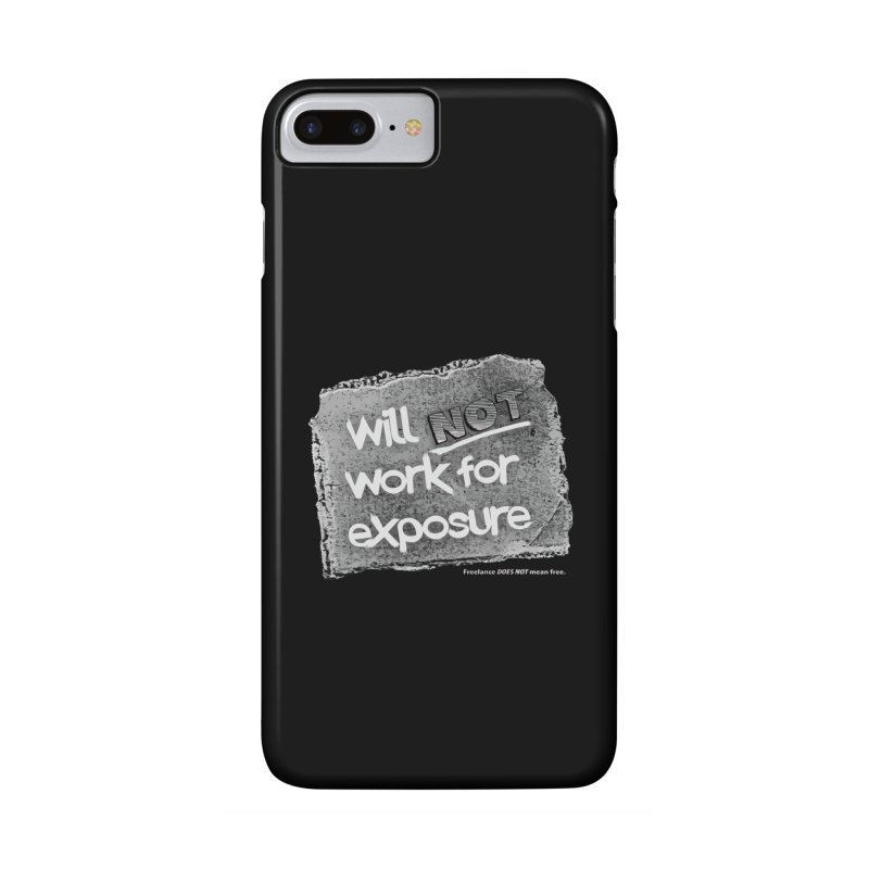 WNWFE (Will Not Work For Exposure) Accessories Phone Case by Jason Henricks' Artist Shop