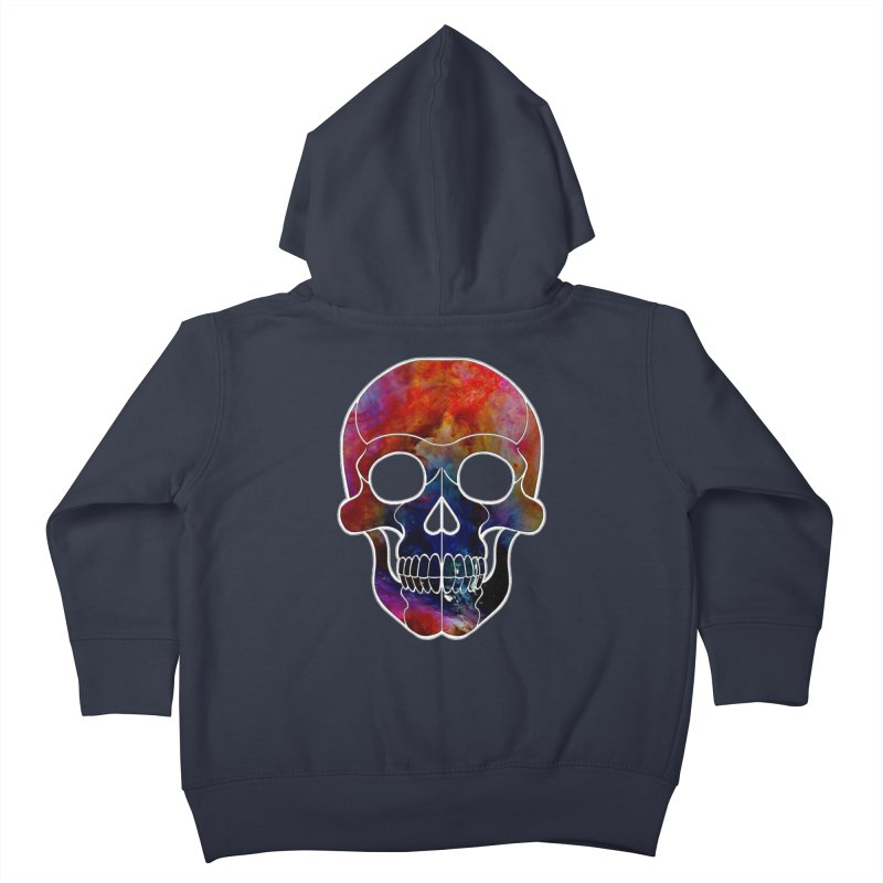 fire. Kids Toddler Zip-Up Hoody by Jason Henricks' Artist Shop