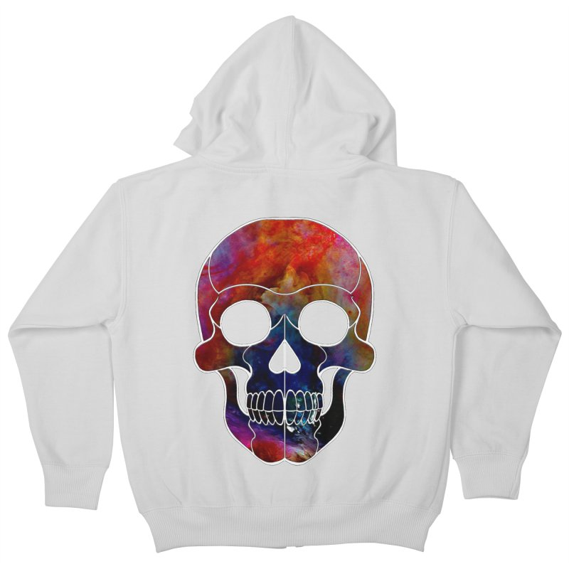 fire. Kids Zip-Up Hoody by Jason Henricks' Artist Shop