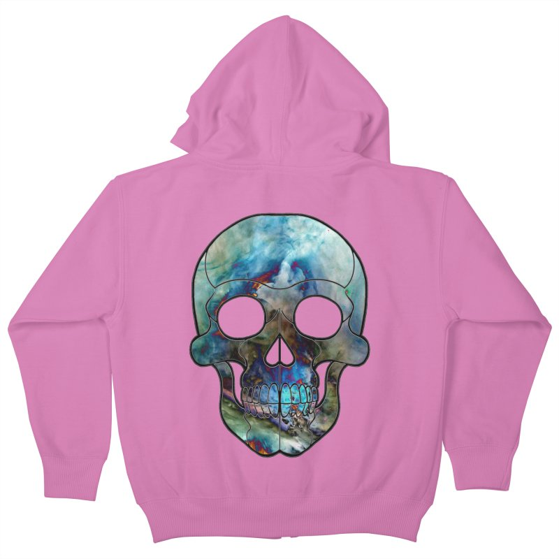 water. Kids Zip-Up Hoody by Jason Henricks' Artist Shop
