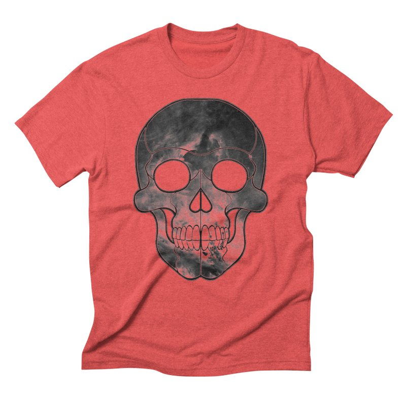hellish. in Men's Triblend T-Shirt Chili Red by Jason Henricks' Artist Shop