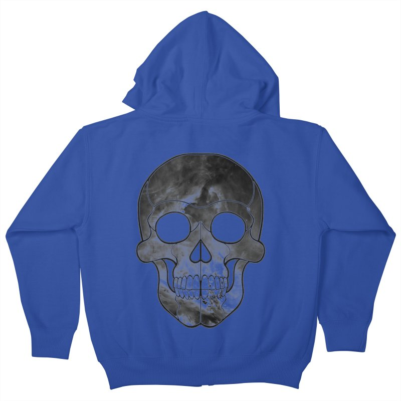 hellish. Kids Zip-Up Hoody by Jason Henricks' Artist Shop