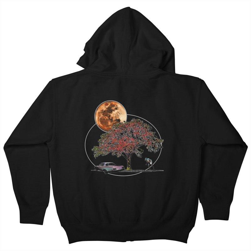 Full Moon on Lover's Lane - Color Version   by Jason Henricks' Artist Shop