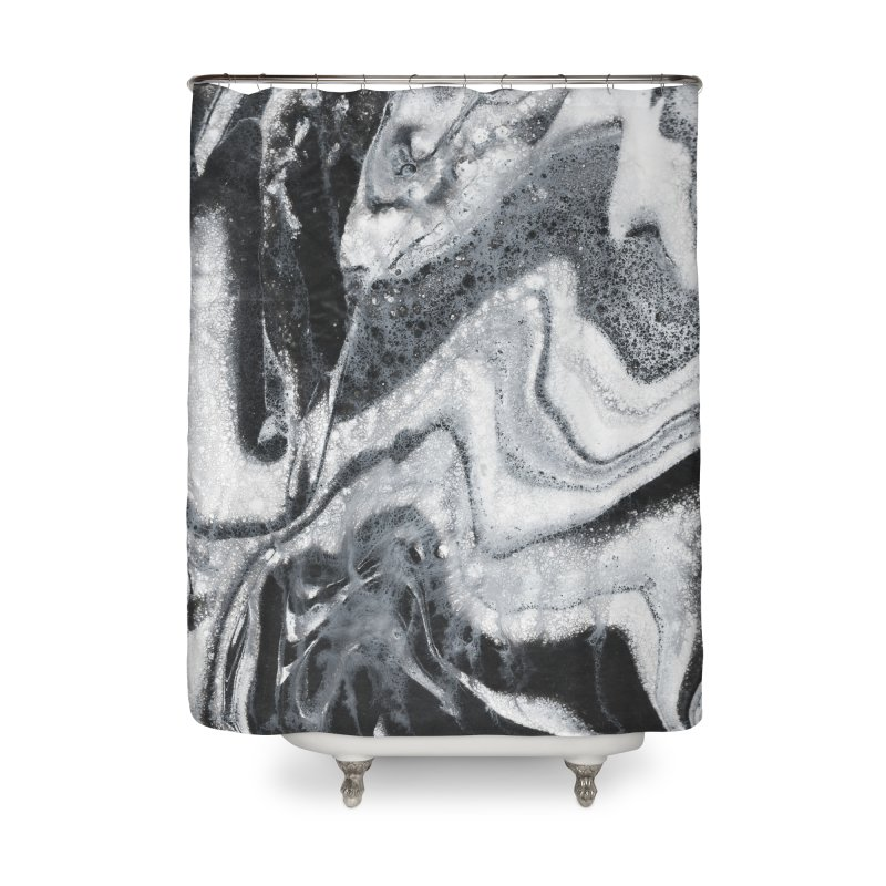 Ninety8 Home Shower Curtain by Jason Henricks' Artist Shop