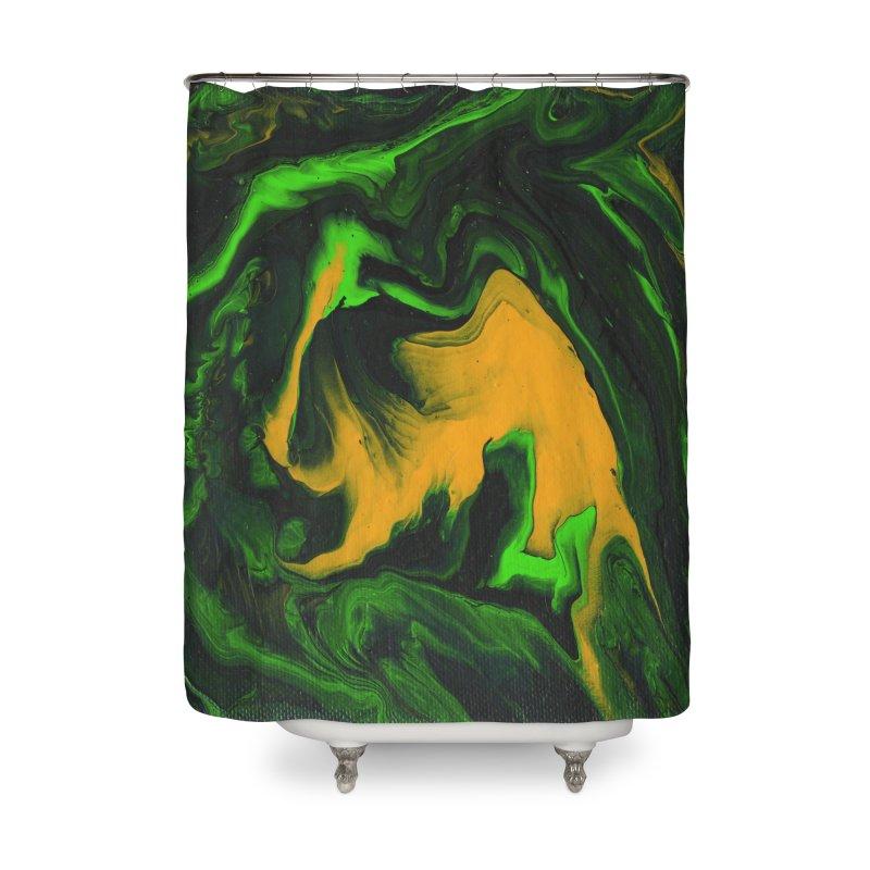 eighty8 Home Shower Curtain by Jason Henricks' Artist Shop