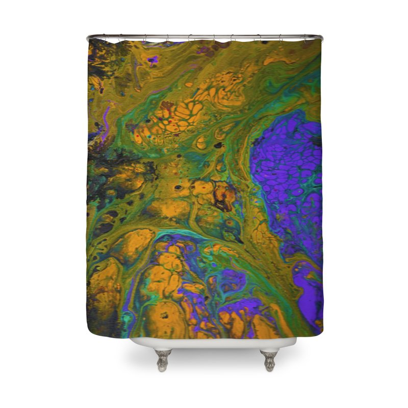 ninety1 Home Shower Curtain by Jason Henricks' Artist Shop