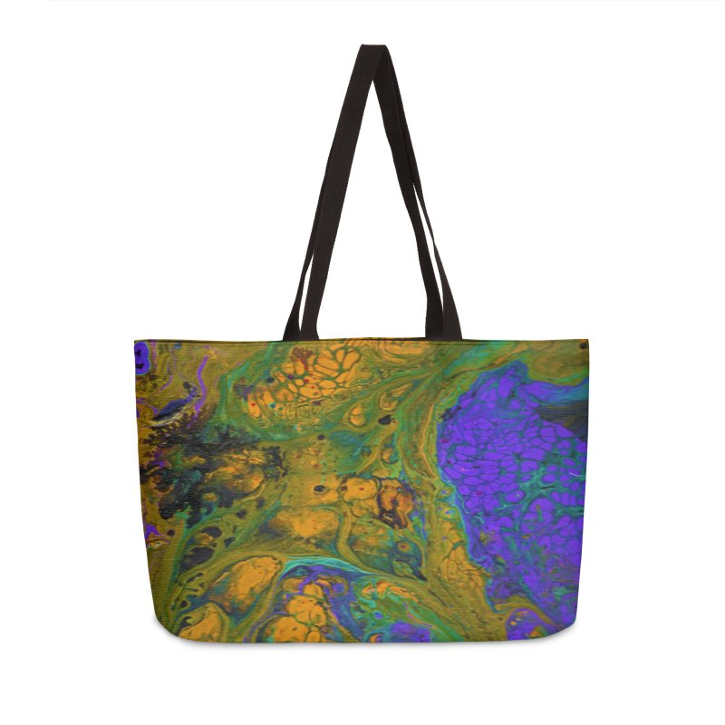 ninety1 Accessories Weekender Bag Bag by Jason Henricks' Artist Shop